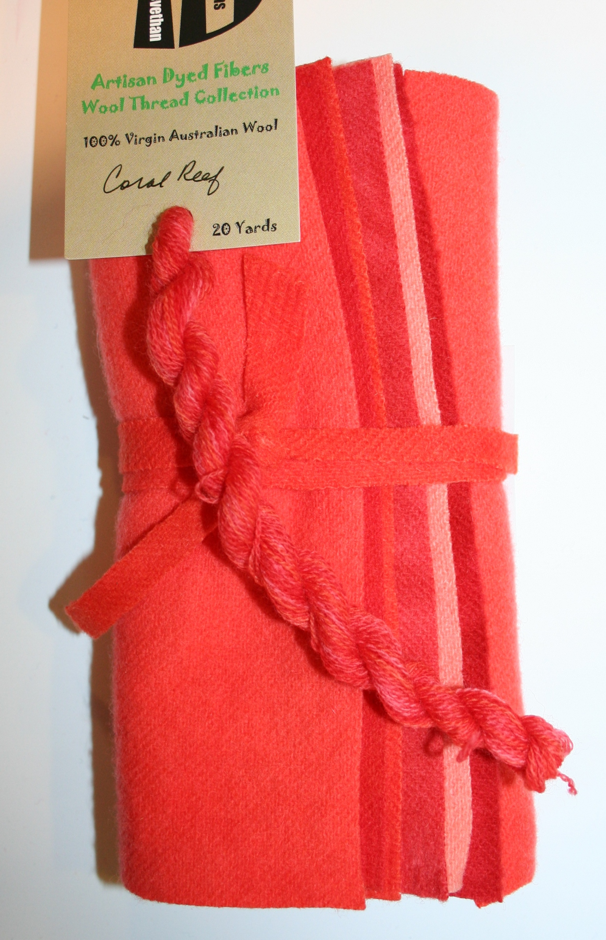 Coral Reef Hand Dyed Wool Six Pack Collection