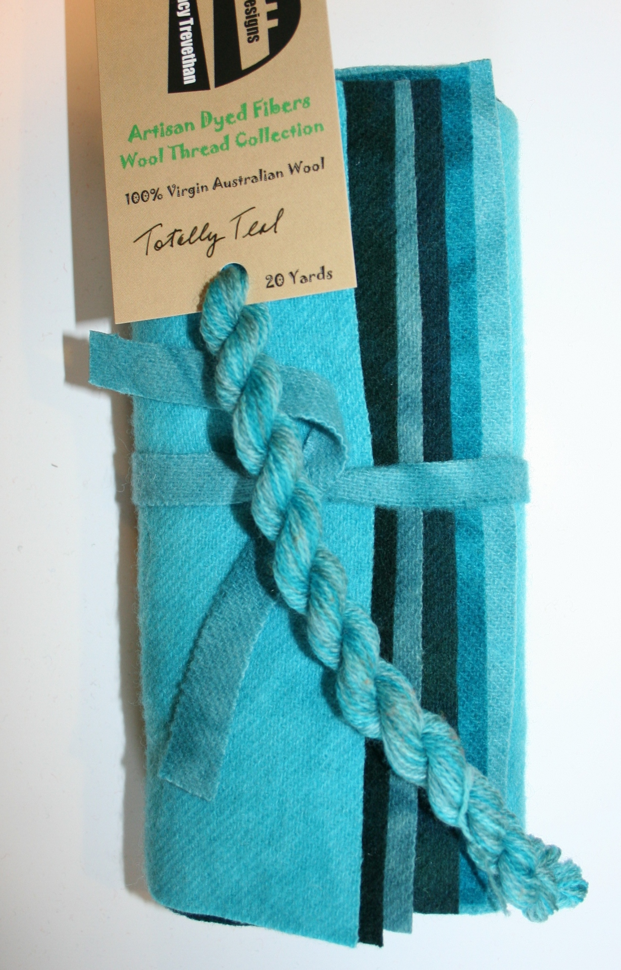 Totally Teal Hand Dyed Wool Six Pack Collection